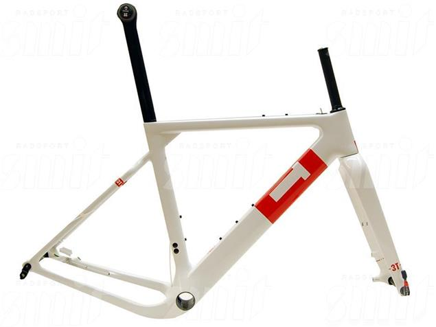 3T Exploro Team Rahmenset - XL white/red