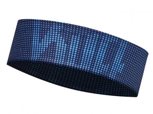 Buff UV Slim Stirnband - deep logo dark navy