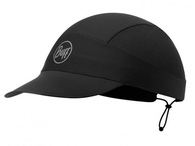 Buff Pack Run Reflective Cap - solid black