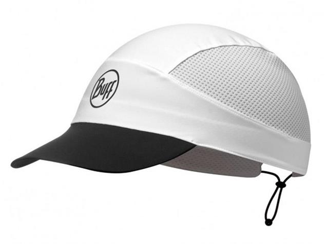 Buff Pack Run Reflective Cap - solid white