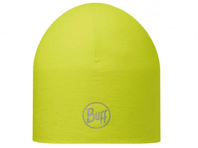 Buff Coolmax Reversible Reflective Mütze - visibility yellow