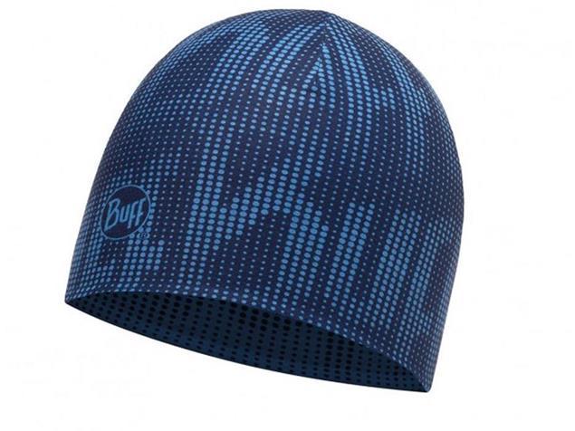 Buff Coolmax Reversible Reflective Mütze - deep logo dark navy