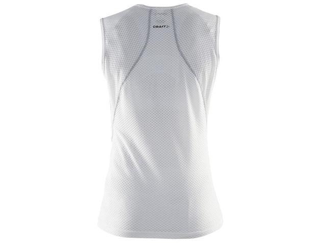 Craft Cool Mesh Superlight Women Shirt SL ärmellos - M white