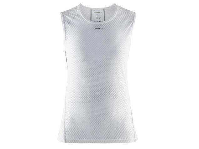 Craft Cool Mesh Superlight Women Shirt SL ärmellos - L white