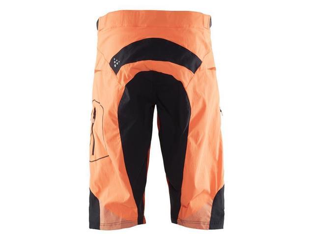 Craft Verve XT Shorts Men kurz - L black/flourange