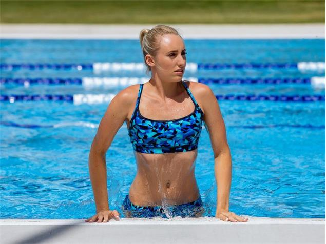 Funkita Lightspeed Ladies Schwimmbikini Sports Top + Sports Brief - 38 (12)
