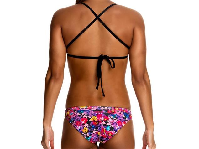 Funkita Petal Prism Ladies Schwimmbikini Tri Top + Hipster Brief - 40 (14)