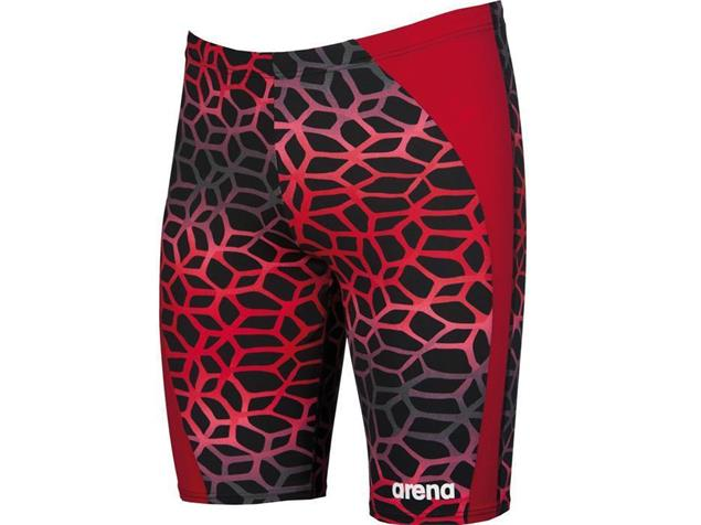 Arena Polycarbonite II Jammer Badehose - 6 black/red