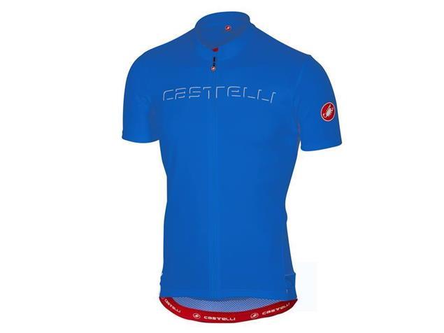 Castelli Prologo 5 Trikot kurzarm - L drive blue