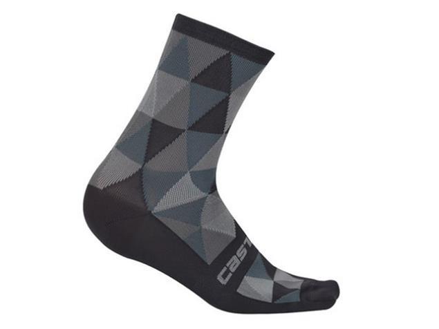 Castelli Fausto Socken - L/XL multicolor gray