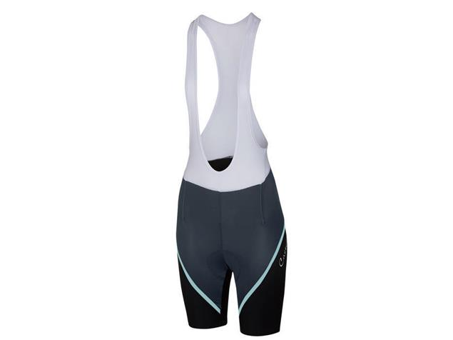 Castelli Magnifica Women Bibshort Trägerhose kurz - L midnight navy/pale blue/black