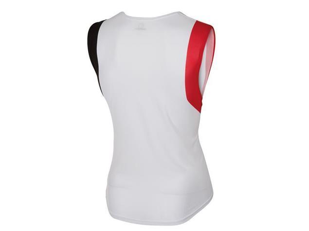 Castelli T.O. Allii Run Top - L white/red