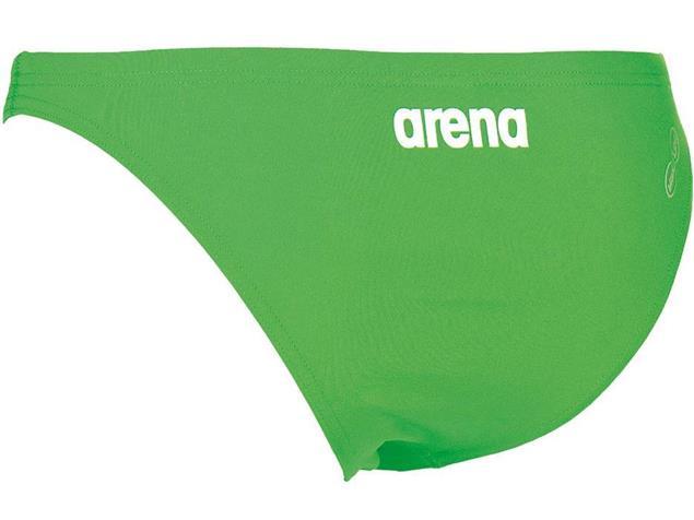Arena Solid Bottom Schwimmbikini Hose leaf/white - 36 leaf/white