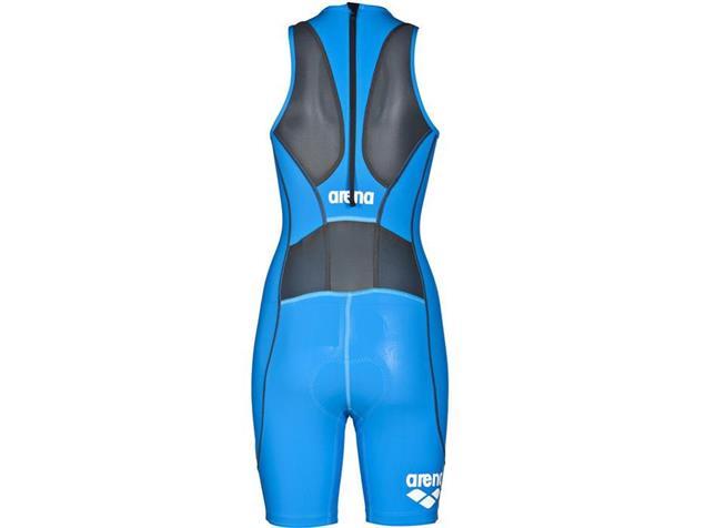 Arena Powerskin ST Women Trisuit Einteiler Rear Zipper - L brilliant blue