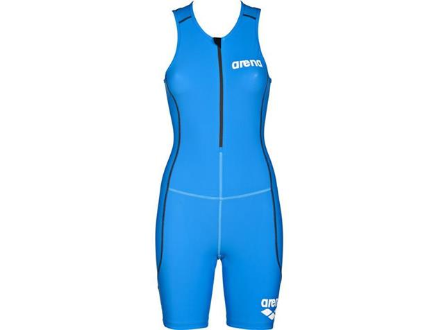 Arena Powerskin ST Women Trisuit Einteiler Front Zipper - S brilliant blue
