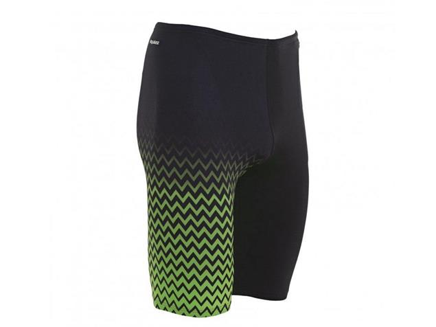 Zoggs Chevron Jammer Badehose - 6 black/green