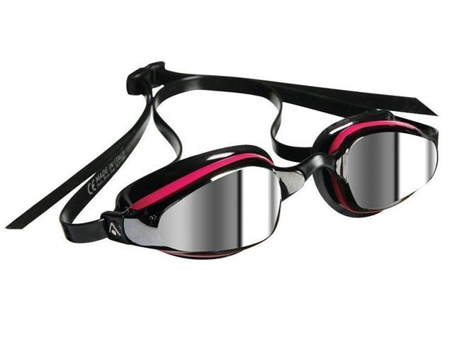 Aqua Sphere MP K180 Mirror Lady Schwimmbrille Michael Phelps Edition - pink/black