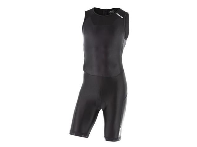 2XU X-Vent Men Rear Zip Trisuit Einteiler MT4356d - XS black/black