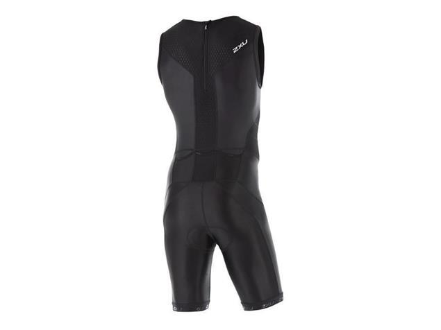 2XU X-Vent Men Rear Zip Trisuit Einteiler MT4356d - XL black/black