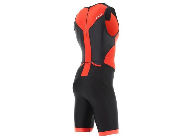 2XU X-Vent Men Rear Zip Trisuit Einteiler MT4356d - XL black/team red