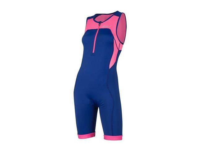 2XU Active Women Trisuit Einteiler WT4371d - L fandango pink/navy