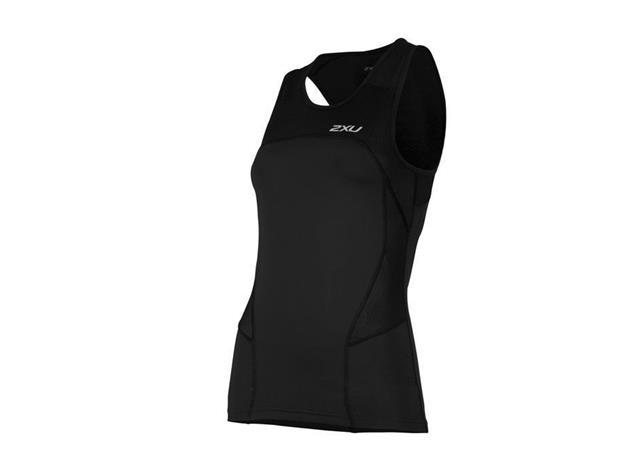 2XU Active Women Tri Singlet WT4372a - S black/black
