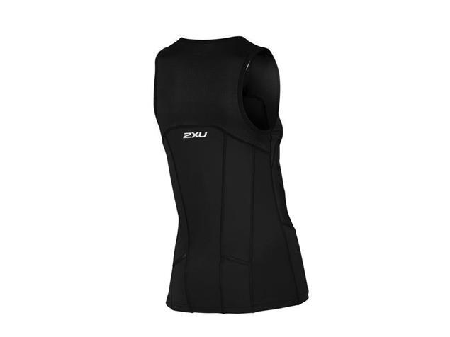2XU Active Women Tri Singlet WT4372a - XL black/black