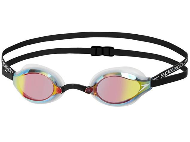 Speedo Speedsocket 2 Mirror Schwimmbrille - white/copper