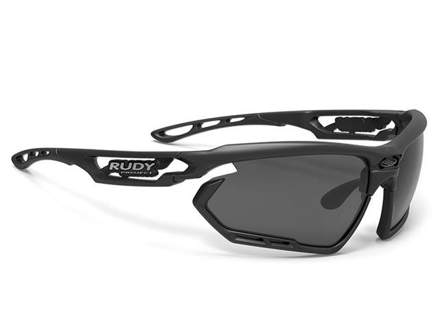 Rudy Project Fotonyk Brille matte black smoke/black bumpers