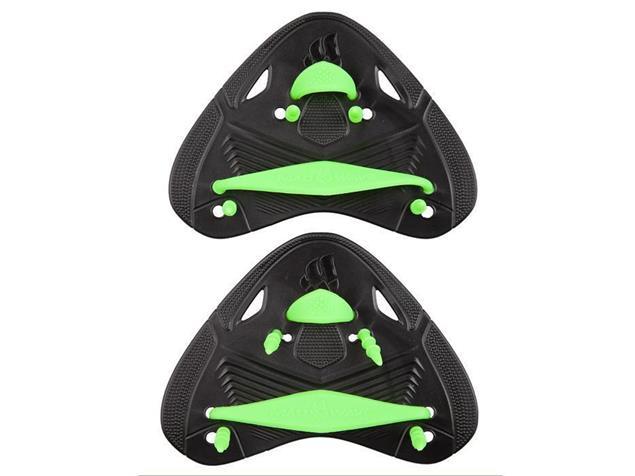 Mad Wave Finger Pro Finger- Paddles - black/green