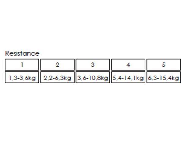 Mad Wave Dry Training Trainingsband mit Griffen - 1 (1.3-3.6 kg)
