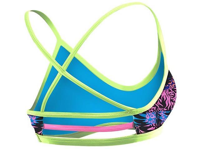TYR Sumatra Schwimmbikini Trinity Top + Bikini Bottom - 40 black/multi