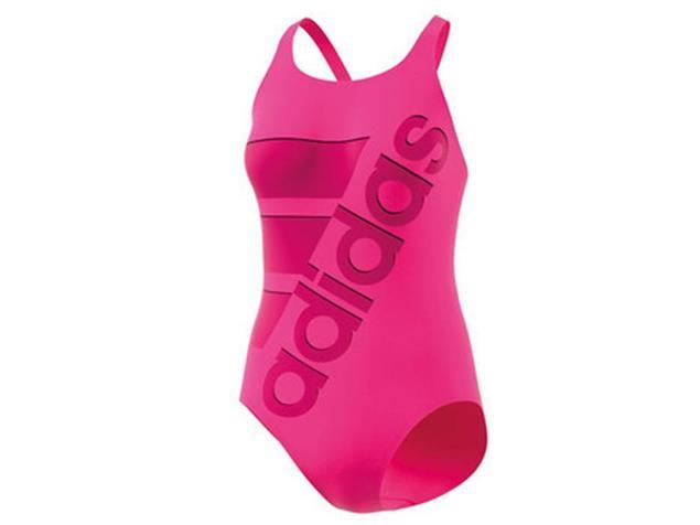 Adidas Clubline Plus Badeanzug shock pink/ pink X-Back, Infinitex+ - 32 shock pink/bold pink