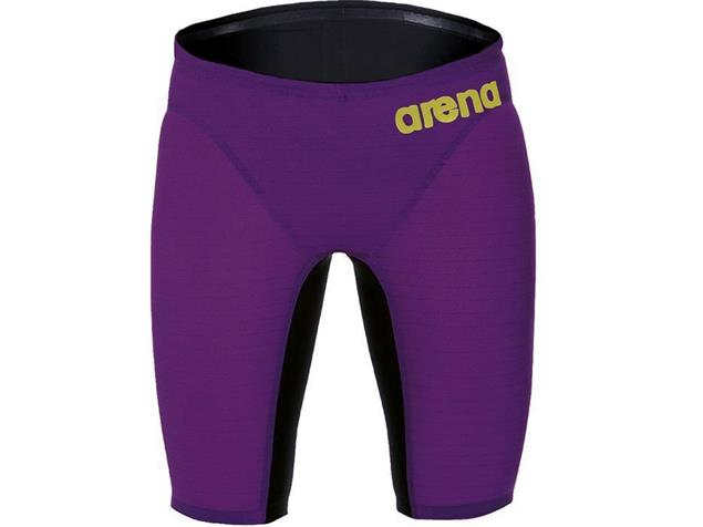 Arena Powerskin Carbon Air Jammer Wettkampfhose - 4 plum/fluo yellow