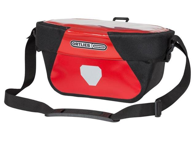 Ortlieb Ultimate6 Classic S Lenkertasche - rot/schwarz