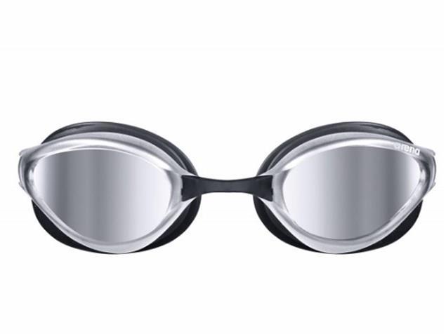 Arena Python Mirror Schwimmbrille - black/silver mirror