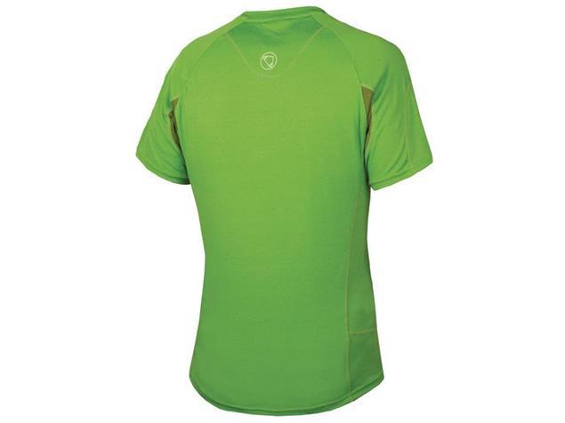 Endura Singletrack Lite Shirt grün - M
