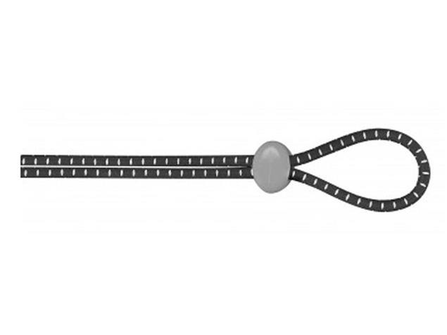 TYR Bungee Cord Strap Kit Brillenersatzbänder black