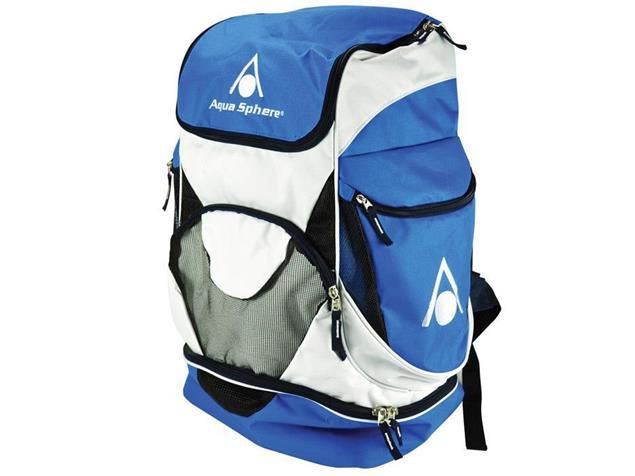 Aqua Sphere Back Pack Rucksack blue/white