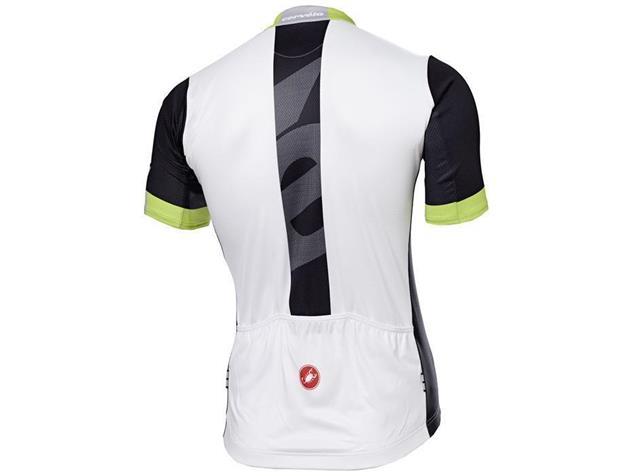 Castelli Cervelo Team Trikot - S black/white/acid green
