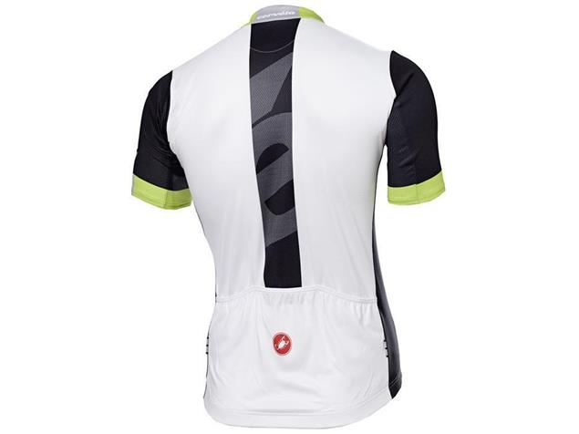 Castelli Cervelo Team Trikot - XL black/white/acid green