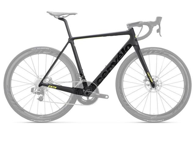 Cervelo R5 Disc Rahmenset - 56 black/green