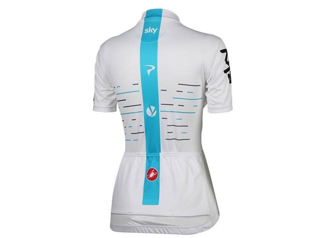 Castelli Sky Fan Trikot Women - XL white