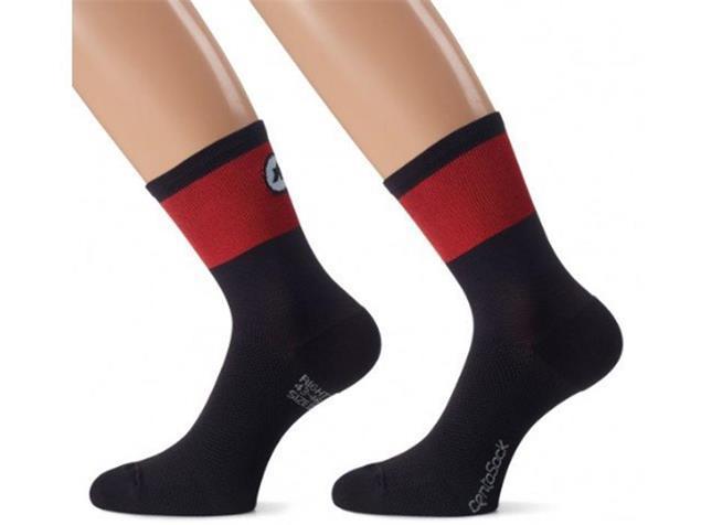 Assos Centosocks_evo8 Socken - 0 national red