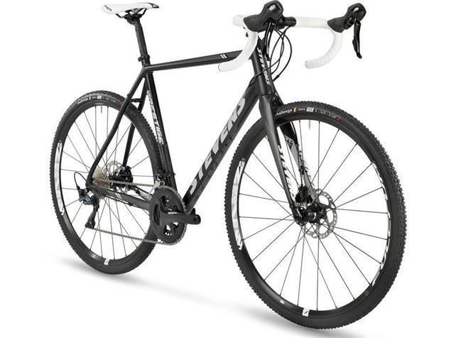 Stevens Prestige Cyclocrossrad - 56 velvet black