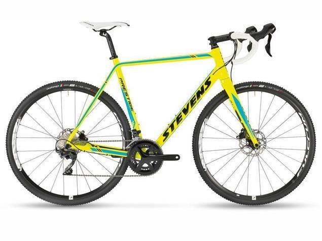 Stevens Prestige Cyclocrossrad - 50 neon yellow