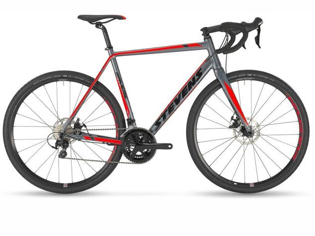 Stevens Gavere Cyclocrossrad - 62 foggy grey