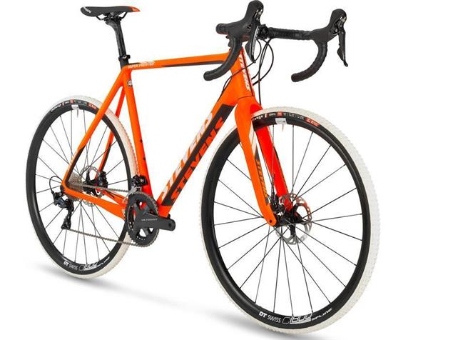 Stevens Super Prestige Disc Cyclocrossrad - 54 fire orange