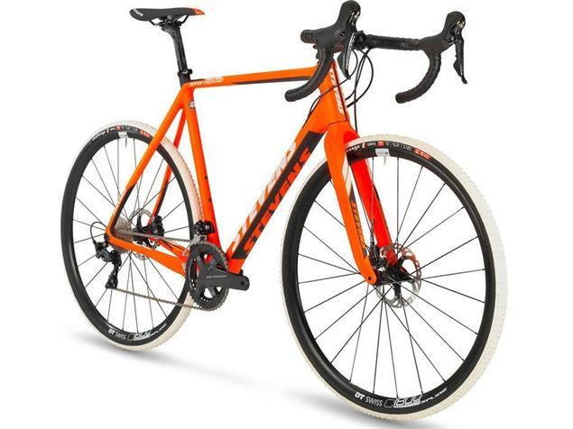 Stevens Super Prestige Disc Di2 Cyclocrossrad - 58 fire orange