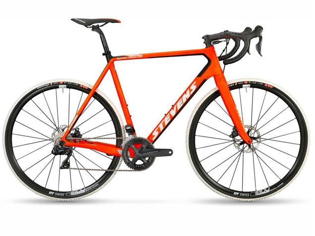 Stevens Super Prestige Disc Di2 Cyclocrossrad - 60 fire orange